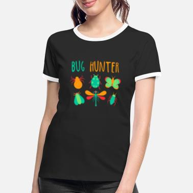 Collector Bug Hunter beetle collector design kids gift - Women's Ringer T-Shirt
