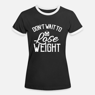 Healthy healthy eating - Women's Ringer T-Shirt