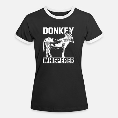 Donkey Donkey animal farm - Women's Ringer T-Shirt