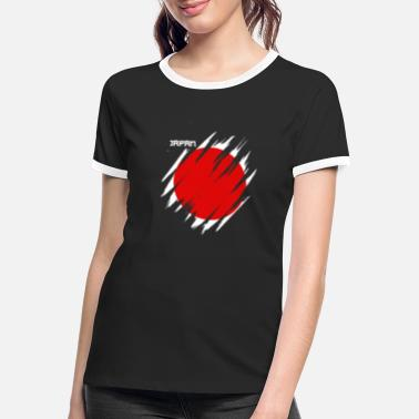 Japan Japan - Frauen Ringer T-Shirt