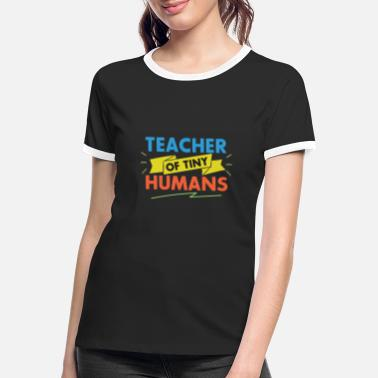 Teacher Teacher shirt for teacher - Women's Ringer T-Shirt