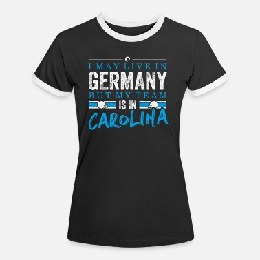 Carolina Carolina Football Fans Germany - Frauen Ringer T-Shirt