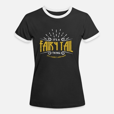 Tail Fairy Tail Magical Shirt - Women's Ringer T-Shirt