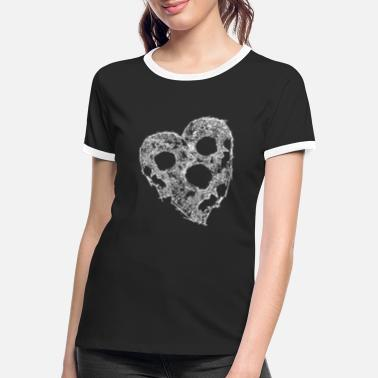 Loose Line SKULL HEART - Women's Ringer T-Shirt