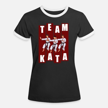 TEAM KATA MALE - Frauen Ringer T-Shirt