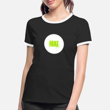 Jake Jake T-Shirt - Frauen Ringer T-Shirt