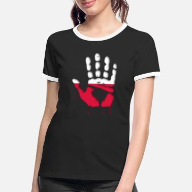 Give me five poles - Women's Ringer T-Shirt
