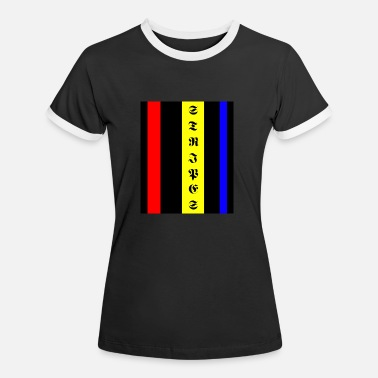 STRIPES and COLORS - Women's Ringer T-Shirt