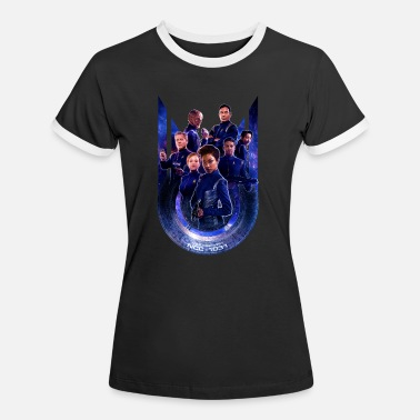 Star Trek Discovery First Season Crew - Women's Ringer T-Shirt