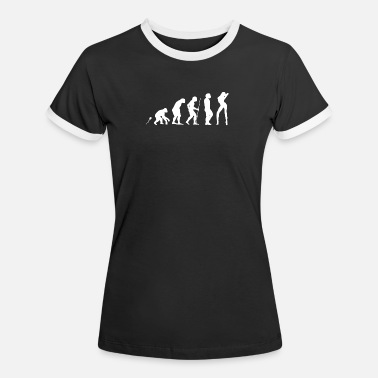 Strip-teaseuse bachelor party de strip-teaseuse JGA - T-shirt contrasté Femme