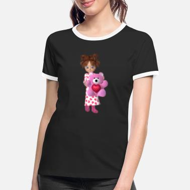 Dream My teddybear - Women's Ringer T-Shirt
