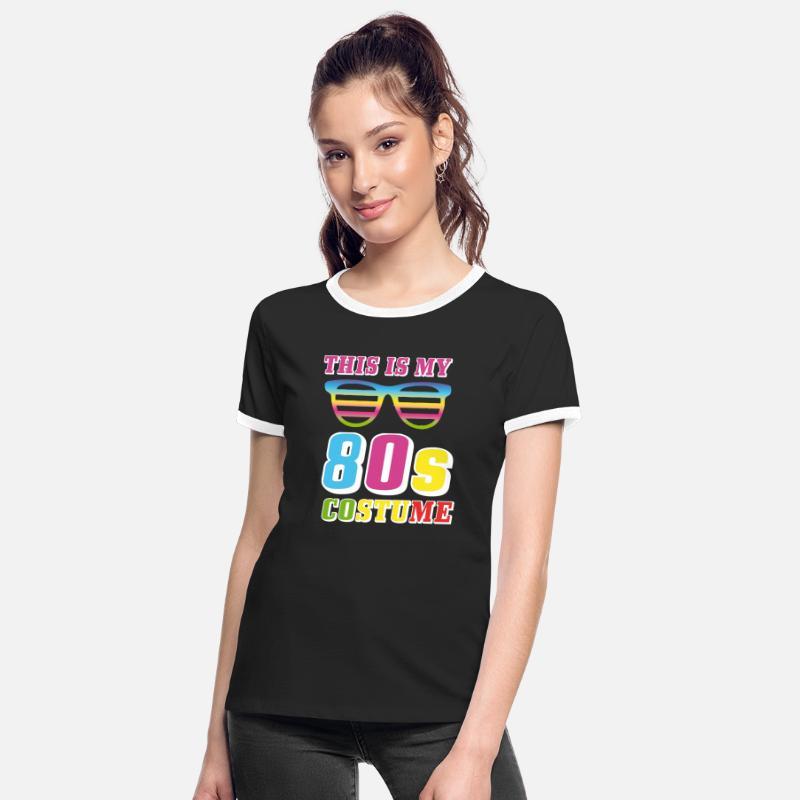 T skjorte We love the 80's, hvit | Festmagasinet Standard