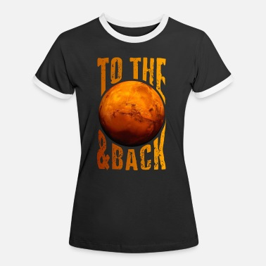 Mission Occupy Mars Mission - Frauen Ringer T-Shirt