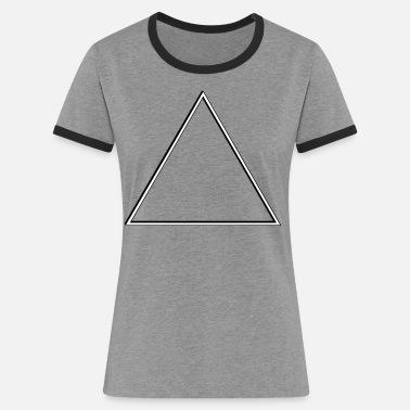 3be478f8c Dj triángulo - Camiseta contraste mujer