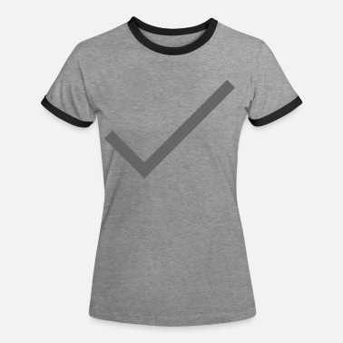 Whats App Hook Grey Single - Vrouwen ringer T-Shirt
