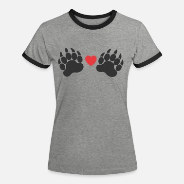 Paw Paws paws - Women's Ringer T-Shirt