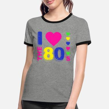 Bestill 80 tallet T skjorter på nett | Spreadshirt