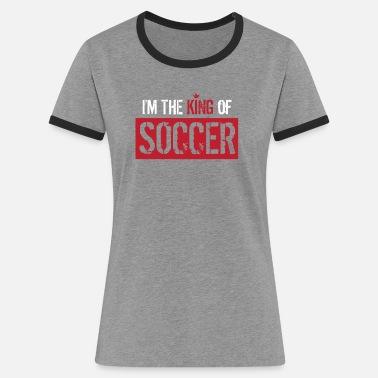 Botín Rey SOY EL REY DE FÚTBOL - Camiseta de fútbol - Fútbol - Camiseta  contraste d1735a21075