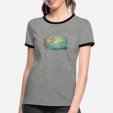 Under The Influence Under the Sea - Frauen Ringer T-Shirt