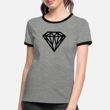 Diamond Diamond - Diamond - Women's Ringer T-Shirt