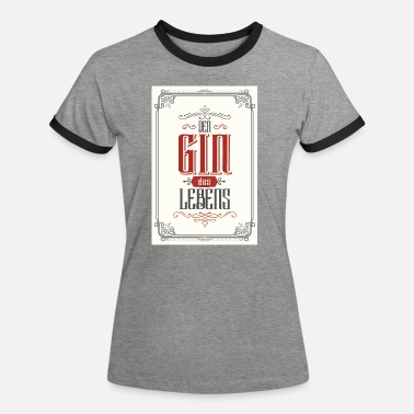 Dorm The gin of life poster - Women's Ringer T-Shirt