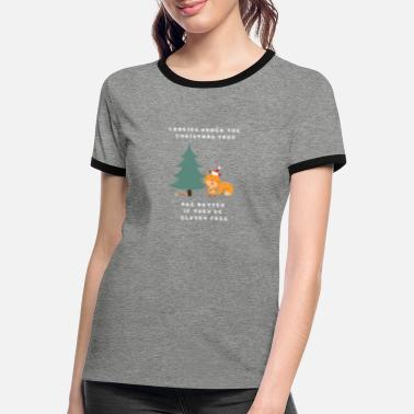 Glutenfrei Cookies under the Christmas Tree - Frauen Ringer T-Shirt
