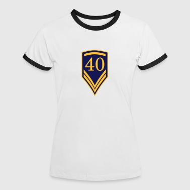 Gift for the 40th Birthday - 40 years - Women's Ringer T-Shirt