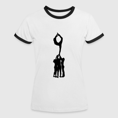 Cheerleading, Cheerleader - Camiseta contraste mujer