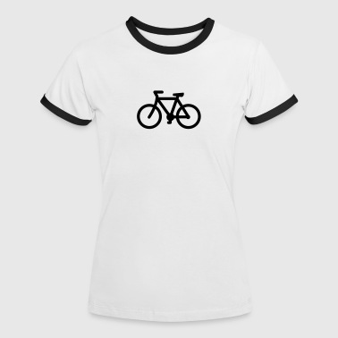 bike - Frauen Kontrast-T-Shirt