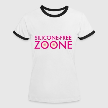 Silicone Free Zoone - T-shirt contrasté Femme