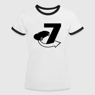 Seven / Fast and Furious - Women's Ringer T-Shirt