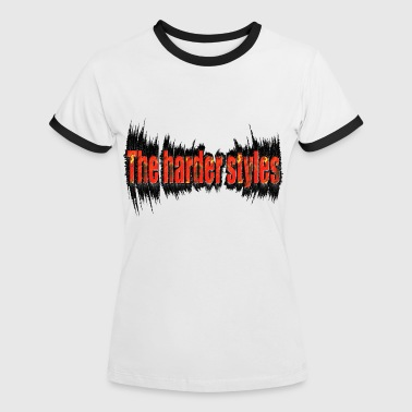 the harder style, hardstyle - Vrouwen contrastshirt