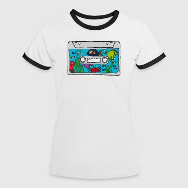 Under the sea - Frauen Kontrast-T-Shirt