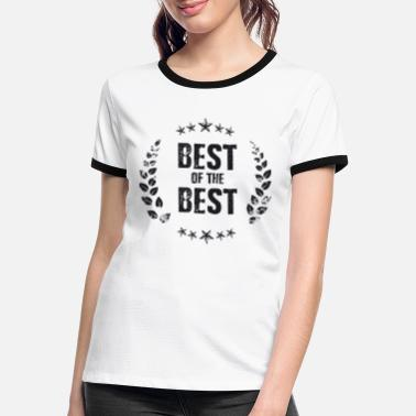 Best Of Best of the Best - Kontrast T-shirt dame