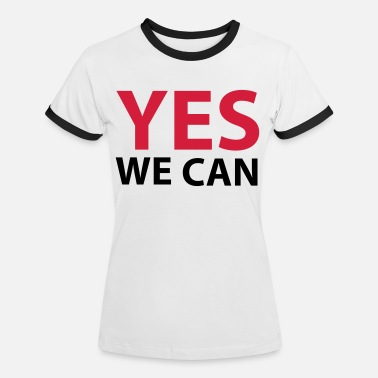 Yes We Can Yes we can - T-shirt contrasté Femme