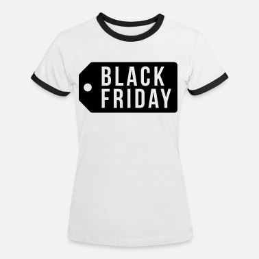 Preisschild Black Friday Preisschild - Frauen Ringer T-Shirt