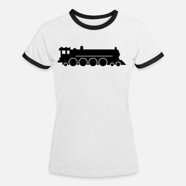 Narrow Gauge lokomotive zug lok - Women's Ringer T-Shirt