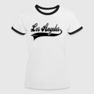 California Los Angeles los angeles california - Maglietta Contrast da donna