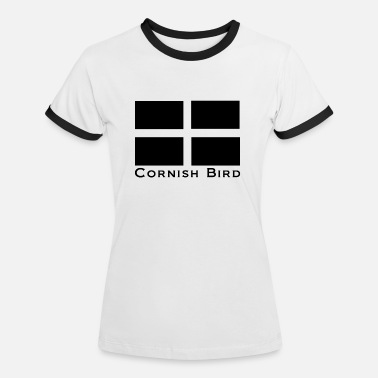 Kernow-flag Cornish Bird - Women's Ringer T-Shirt