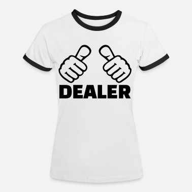 Deal Dealer - Frauen Ringer T-Shirt