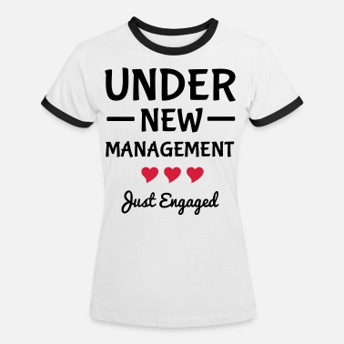 Engagement Engaged - Women's Ringer T-Shirt