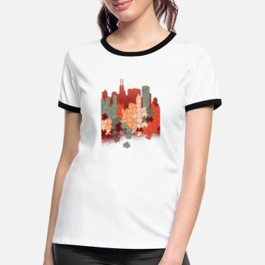 Puzzle fan - Women's Ringer T-Shirt