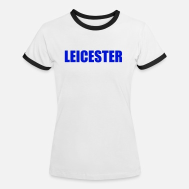 Leicester Leicester - Vrouwen ringer T-Shirt