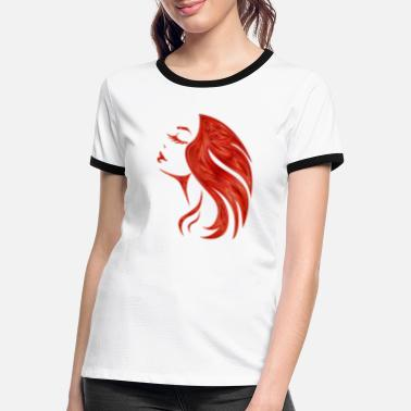 female beauty - Women's Ringer T-Shirt