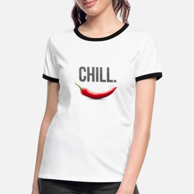 Curry Chill - Women's Ringer T-Shirt