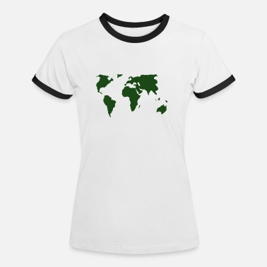 green world - Women's Ringer T-Shirt