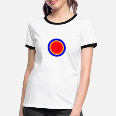 Dot Dot - Frauen Ringer T-Shirt