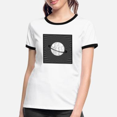 Discovery Planet - Women's Ringer T-Shirt