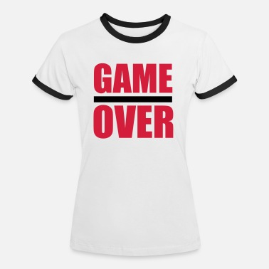 Game Game Over - T-shirt contrasté Femme