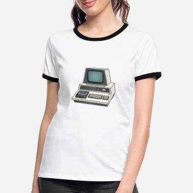 Personal Computers Personal Computer PC c - Women's Ringer T-Shirt